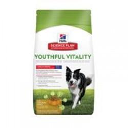 Hill's Science Plan Canine Adult 7+ Youthful Vitality Medium Breed with Chicken & Rice (Курица с рис), корм для собак средних пород старше 7 лет