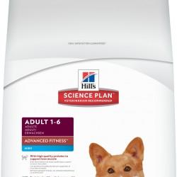 Hill's Science Plan Canine Adult Advanced Fitness Mini Chicken (Курица), корм для взрослых собак мелких пород
