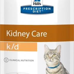 Hill's Prescription Diet Feline k/d Beef (Говядина), лечебная диета для кошек  при заболеваниях почек и сердца