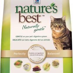 Hill`s Nature's Best  Naturally Gentle Feline Adult Tuna (Тунец), корм для кошек без пшеницы и сои