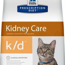 Hill's Prescription Diet  Feline k/d Chicken (Курица), лечебная диета для кошек при хроническом заболевании почек, сердца, при уратном и цистиновом уролитиазе