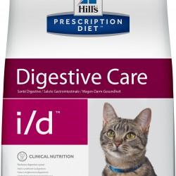 Hill's  Prescription Diet Feline i/d Chicken (Курица), лечебная диета  для кошек при заболеваниях ЖКТ и в реабилитационный период.