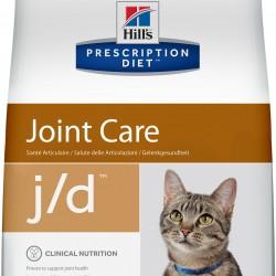 Hill's Prescription Diet Feline j/d Chicken (Курица), лечебная диета для кошек для поддержания здоровья суставов