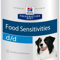 Hill`s Prescription Diet Canine d/d Salmon&Rice (Лосось и рис), лечебная диета для собак при дерматитах/пищевой аллергии
