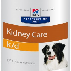 Hill's Prescription Diet k/d Canine, лечебная диета для собак при хронических заболеваниях почек, заболеваниях сердца на ранних стадиях