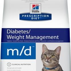Hill`s Prescription Diet Feline m/d Chicken (Курица), лечебная диета для кошек с избыточным весом или сахарным диабетом