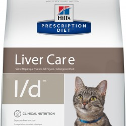 Hill's  Prescription Diet  Feline l/d Chicken (Курица), лечебная диета  для кошек для поддержания функции печени.