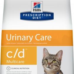 Hill`s Prescription Diet Feline c/d Chicken (Курица), лечебная диета для кошек при заболеваниях мочевыводящих путей