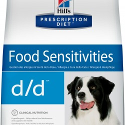 Hill's Prescription Diet Canine d/d Duck&Rice (Утка и рис), лечебная диета для собак при дерматитах/пищевой аллергии
