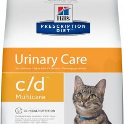 Hill`s Prescription Diet  Feline c/d Ocean Fish (Океаническая рыба), лечебная диета для кошек при заболеваниях мочевыводящих путей