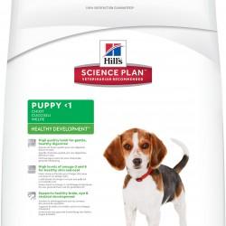 Hill's Science Plan Puppy Healthy Development Lamb & Rice (Ягненок и рис), корм для щенков мелких и средних пород, беременных и кормящих собак