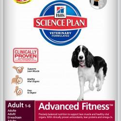 Hill's Science Plan Canine Adult Advanced Fitness Tuna&Rice (Тунец и рис), корм для взрослых собак мелких и средних пород