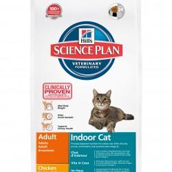Hiil`s Science Plan Feline Adult Indoor Cat Chicken (Курица), полнорационный корм для кошек, живущих в помещении