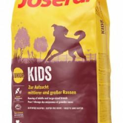 JOSERA Kids, для щенков от 8 недель и молодых собак средних и крупных пород