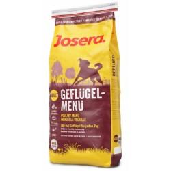 Josera Poultry Menu, сухой корм для взрослых собак активных пород с мясом домашней птицы