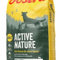 JOSERA Active Nature, для взрослых собак, на основе вкусного мяса домашней птицы 28% и баранины премиум класса 9%