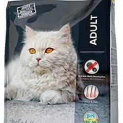 JOSERA Catelux (Утка с картофелем), для взрослых длинношерстных и привередливых кошек, склонных к образованию комков шерсти