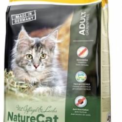 JOSERA NatureCat, беззерновой корм для кошек с чувствительным пищеварением и котят от 6 месяцев