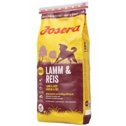 JOSERA Lamb & Rice (Ягнёнок с Рисом), для взрослых собак всех пород склонных к пищевой аллергии