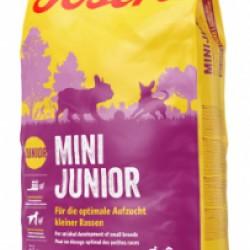 JOSERA MiniJunior (Утка и лосось), для щенков и взрослых собак мелких пород