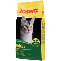 JOSERA JosiCat Poultry, для взрослых кошек, полнорационный деликатесный корм с аппетитным мясом домашней птицы 20%
