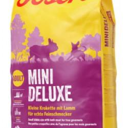 JOSERA MiniDeluxe, беззерновой корм для взрослых собак мелких пород с мясом ягненка