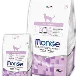 MONGE CAT STERILISED, корм для стерилизованных кошек