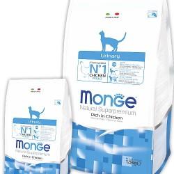 MONGE CAT URINARY, корм для кошек для профилактики мочекаменной болезни