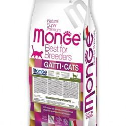 MONGE CAT SENSITIVE, корм для кошек с чувствительным пищеварением