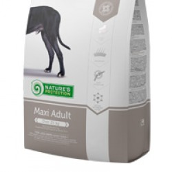 Nature's Protection Adult Maxi, корм для собак крупных пород