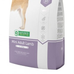Nature's Protection Adult Mini Lamb, корм с мясом ягнёнка для  собак малых пород