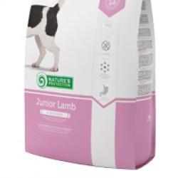Nature's Protection Junior Lamb, корм с мясом ягнёнка для щенков всех пород