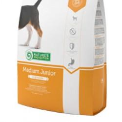 Nature's Protection Junior Medium, корм для щенков средних пород