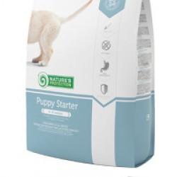 Nature's Protection Puppy Starter, полноценный сбалансированный корм для щенков всех пород 4-8 недель. Для беременных и кормящих собак.