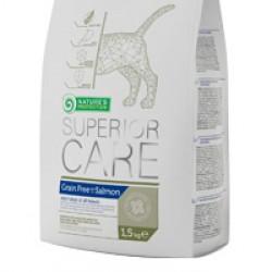 Nature`s Protection Superior Care Grain Free Salmon, корм для взрослых собак всех пород с лососем
