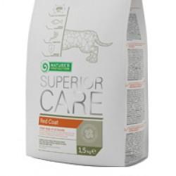 Nature`s Protection Superior Care Red Coat, полноценный сухой корм для взрослых собак всех пород с рыжим оттенком шерсти.