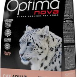 Optimanova Adult Salmon&Potato, беззерновой корм для взрослых кошек