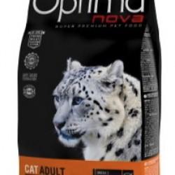 Optimanova Adult Salmon&Rice, полноценный корм для взрослых кошек