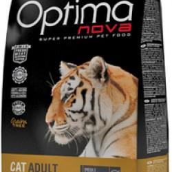 Optimanova Cat Adult Chiken&Potato, беззерновой корм для взрослых кошек