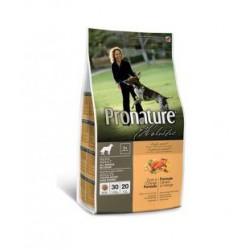 Pronature Holistic Adult Dog Duck & Orange Grain Free, беззерновой  корм с уткой и апельсином для собак  (от 1 года).