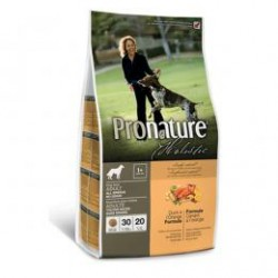 Pronature Holistic Adult Dog Duck & Orange Grain Free, беззерновой  корм с уткой и апельсином для собак  (от 1 года).