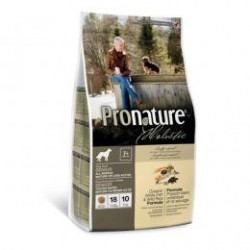 Pronature Holistic Senior, Mature, Less Active Dog Oceanic White Fish & Wild Rice, корм с океанической белой рыбой и диким рисом для пожилых и малоактивных собак (от 7 лет).