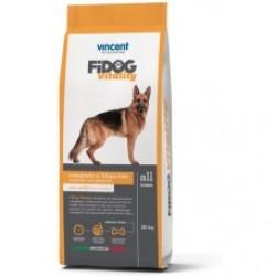 Vincent FIDOG Vitality, Полнорационный корм для активных собак всех пород (курица и говядина)
