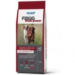 Vincent FIDOG Vital Power, Полнорационный корм для собак с повышенной активностью (с цыпленком)